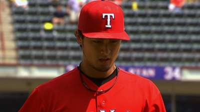 Darvish takes tough-luck loss; Rangers fall 5 1/2 back