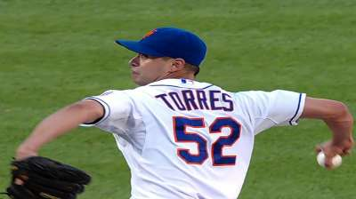Torres hurt by few mistakes; Mets blanked by Fish
