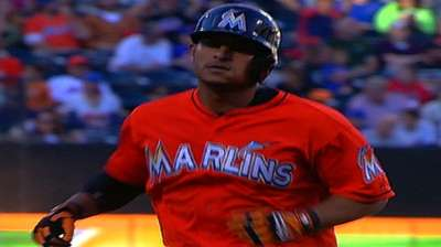 Alvarez leads Marlins' shutout in New York
