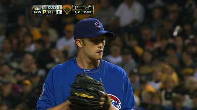 Baker impressive again, but Cubs edged in Pittsburgh