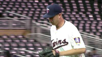 Gardenhire sees reliever Tonkin's potential