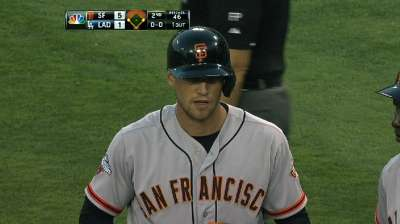 Pence's tear puts him next to Giants elite