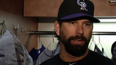 Helton nominated for Roberto Clemente Award