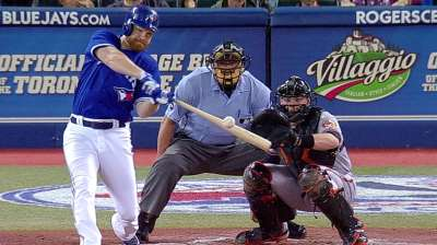 Lind's loud homer represents only Blue Jays offense