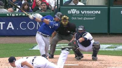 Guthrie, Royals fall on late Tigers homer