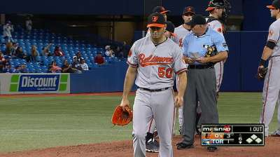 Gonzalez to start for O's on Saturday vs. Rays