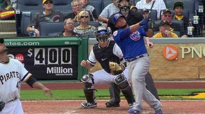 Cubs fall to Pirates after getting late wakeup call