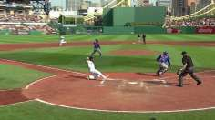 No history for Liriano, but Morneau wins it for Bucs