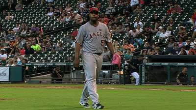 Angels non-tender Williams, Hanson, two others