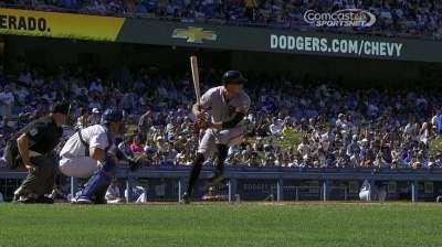 Dodgers sufren 3ra derrota en fila contra Gigantes