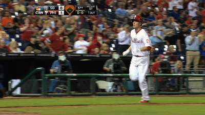 Asche showing potential to be solid for Phils