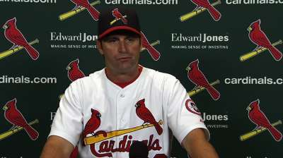 Matheny OK with celebrating postseason berth