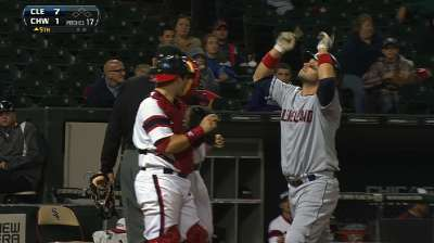 Tribe remains hot on heels of AL Wild Card leaders