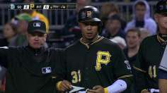 Nearly no-hit, Pirates fall out of tie atop NL Central