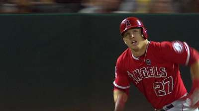 Trout on verge of sabermetric history