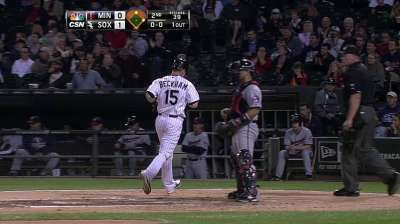 Semien makes first start at shortstop