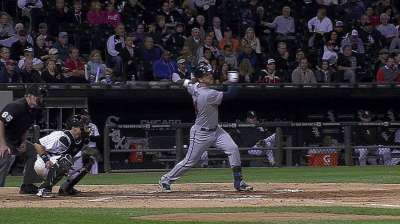 Plouffe swinging hot bat in September