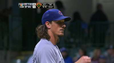 Shark shows fire around 200th K as Cubs fall