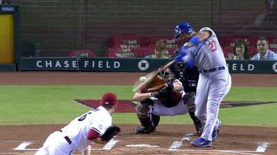 Dodgers tee up clincher by bashing D-backs
