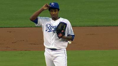With good signs for future, KC gives up Ventura's lead