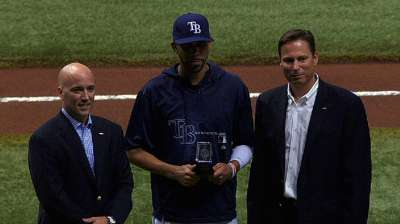 Price tabbed as Rays' Clemente Award nominee