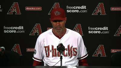 D-backs set rotation plan through end of season