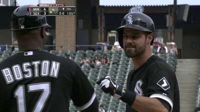 Boost from brother's bat not enough for Danks