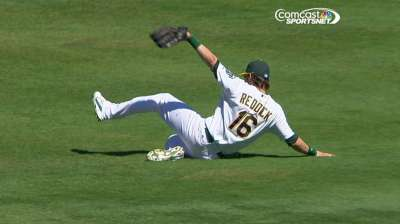 Reddick earns defensive honors for A's