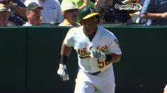 A's lose in extras as magic number remains six