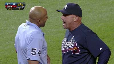 Fredi ejected, Wood shortly thereafter in DC