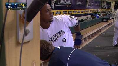 Segura day to day with hamstring strain