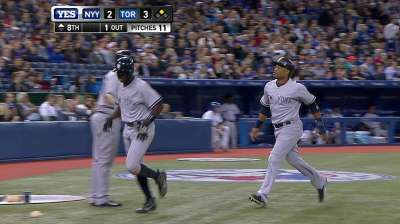 Yankees rally late to gain in Wild Card pursuit