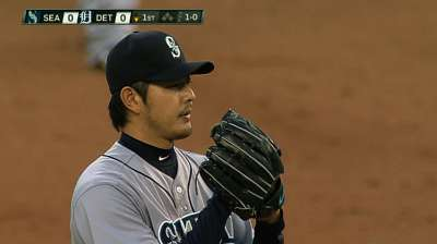 Mariners own bright pitching star in Iwakuma