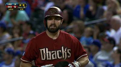 D-backs turn away Dodgers with five-run eighth