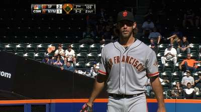 Bumgarner would have preferred to pitch again