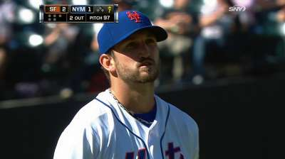 Niese strong, but Mets edged by Giants