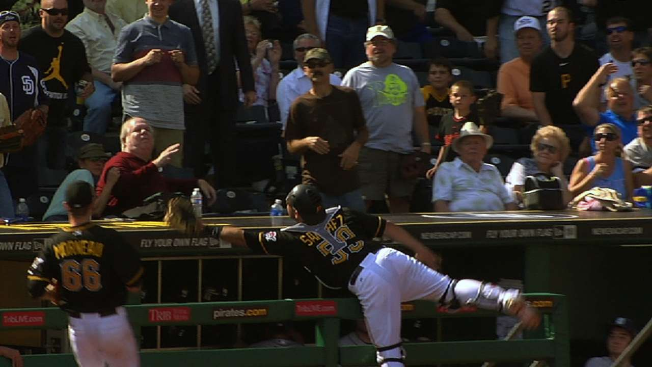 Sanchez overwhelmed by support at PirateFest