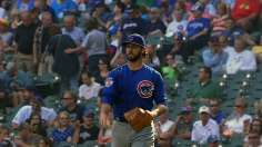 With full arsenal working, Arrieta baffles Crew