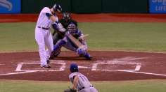 Moore exits early as Rays fall into tie atop Wild Card
