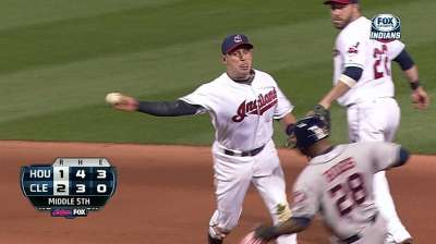 Tribe passes Texas for WC spot with win vs. Houston