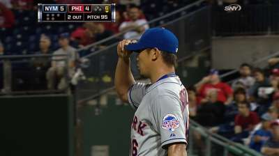 Dice-K, Mets top Phillies in Wright's return