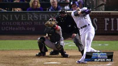 Tulo showing plenty of pop at the plate
