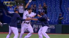 Rays stay atop Wild Card with win in 18th