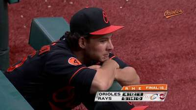 O's Wild Card chase takes hit with loss in 18th
