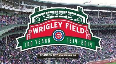 Wrigley Field 100th anniversary logo unveiled