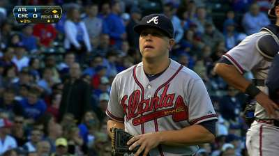 With bullpen slip, clinch eludes Braves' grip