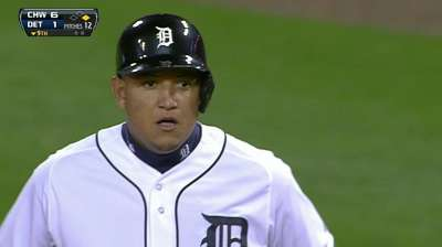 Miggy returns to Tigers' lineup
