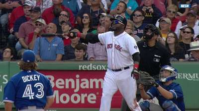 Three up, three down: Ortiz proving ageless for Sox