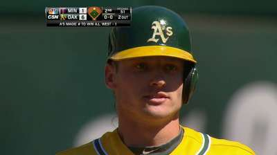 Donaldson earns first Player of Month honor
