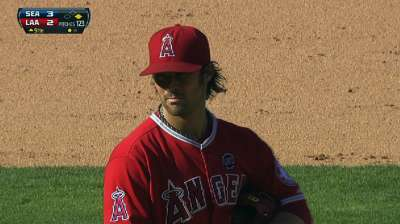 Wilson almost goes the distance as Halos fall